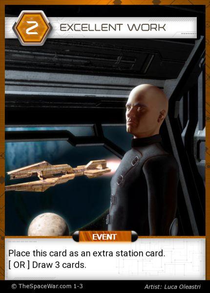 Card: Excellent work