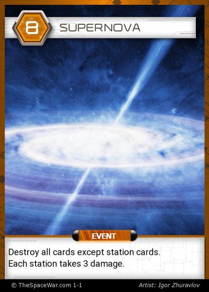 Card: Supernova