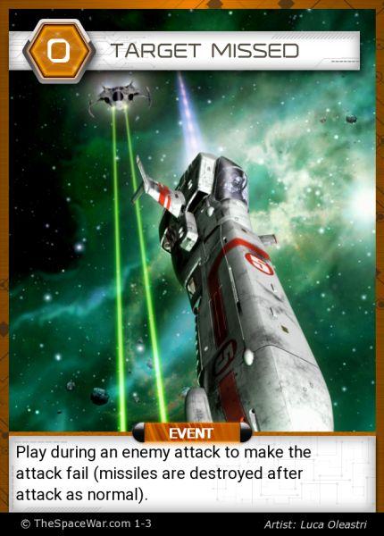 Card: Target Missed