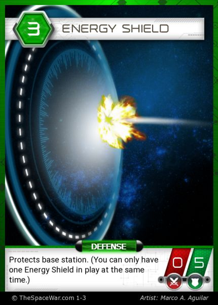 Card: Energy Shield