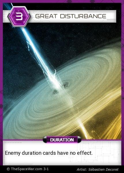 Card: Great Disturbance