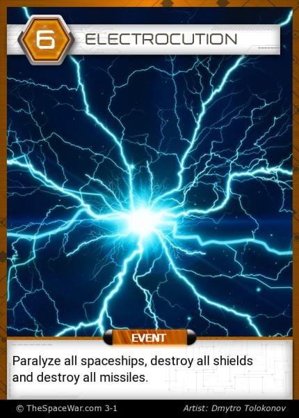 Card: Electrocution