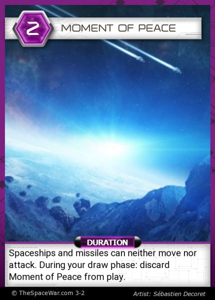 Card: Moment of Peace