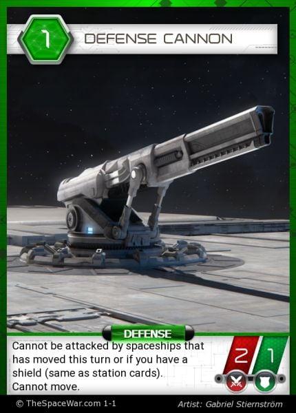 Card: Defense Cannon