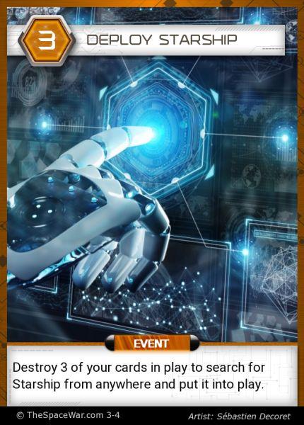 Card: Deploy Starship