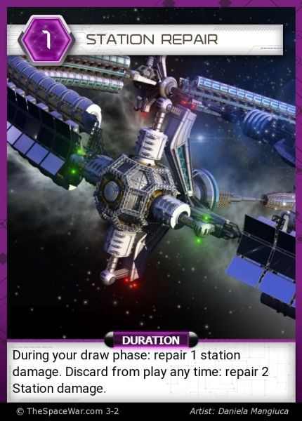 Card: Station Repair