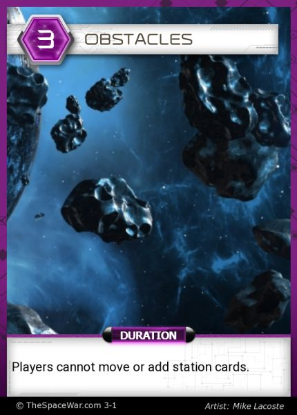 Card: Obstacles