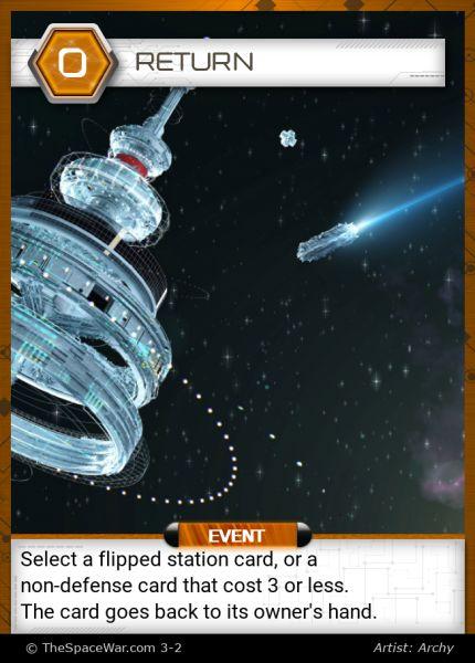 Card: Return