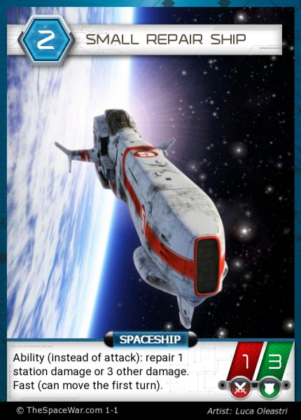 Card: Small Repair Ship