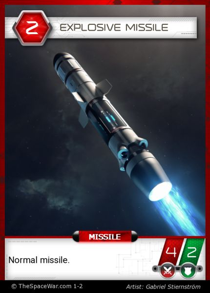 Card: Explosive Missile