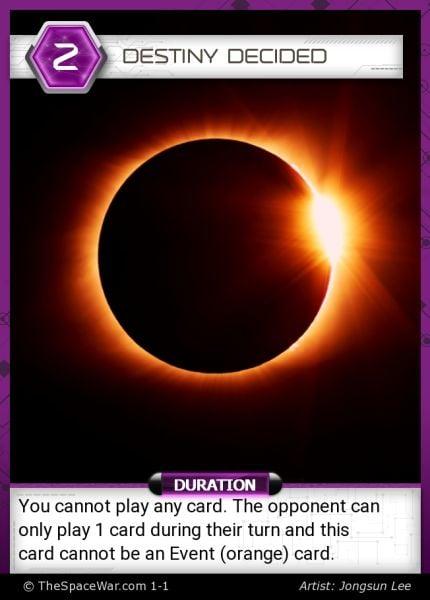 Card: Destiny Decided