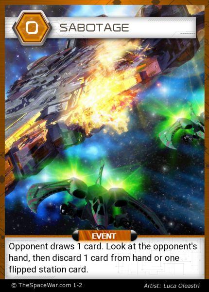 Card: Sabotage