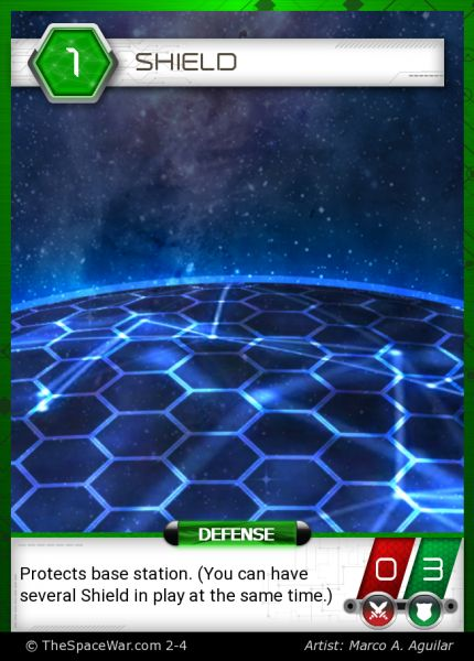Card: Shield