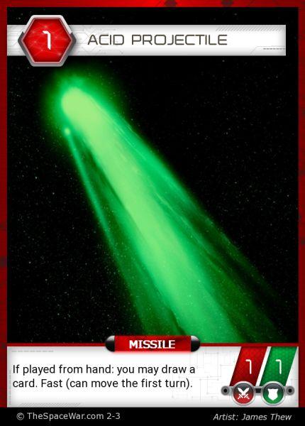 Card: Acid Projectile