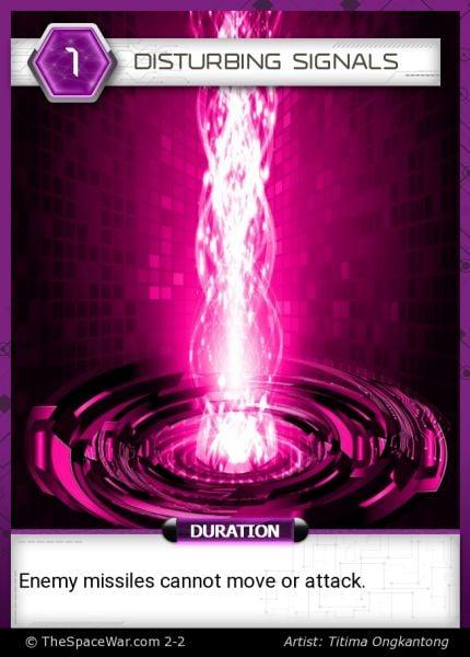 Card: Disturbing Signals