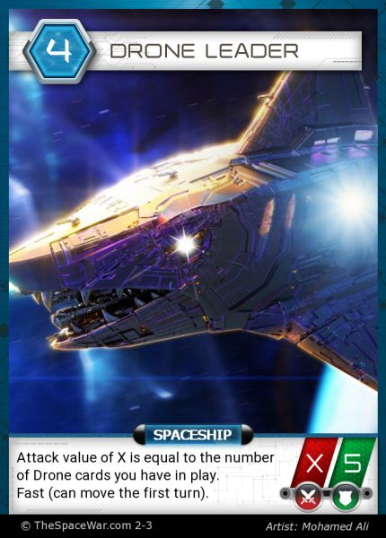 Card: Drone Leader